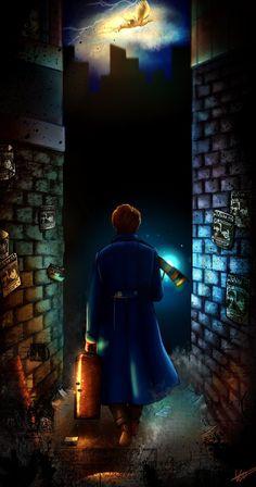 Fantastic Beast Newt Scamander by KuroStars on DeviantArt