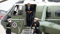 Obama Arrives in L.A. to Hit the Hollywood ATM