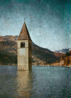 Resia lake, Val Venosta - null