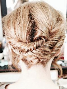 Fishtail Crown Braid
