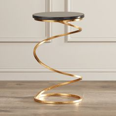 End Tables & Side Tables You'll Love in 2020 Iron Furniture, Steel Furniture, Unique Furniture, Furniture Decor, Furniture Design, Quality Furniture, Centre Table Design, Center Table, Design Table