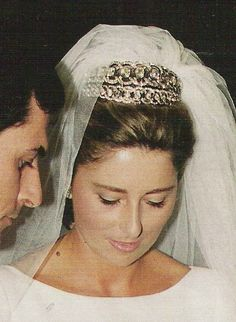 España. Adolfo Suárez Illana e Isabel Flores
