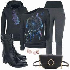 Freizeit-outfits dream catcher bei Puma Sneaker, Only Shirt, Business Outfit, Leggings, Trends, Dream Catcher, Girls, Fashion, Ladies Accessories
