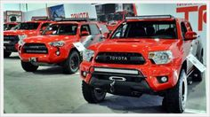 2017 Toyota Tacoma TRD Pro Barcelona Red