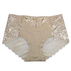 Hot! Women's Perspective Sexy Full Transparent Mid Waist Women's Panties Intimates bragas de mujeres la ropa interior