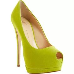 I need these neon pumps
