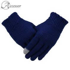 Women Winter Warm Solid Color Full-finger Gloves Outdoor Casual Windproof Touch Screen Gloves is hot sale on Newchic. How To Get Money, St Kitts And Nevis, Free Gifts, Finger, Gloves, Touch, Warm, Elegant, Casual