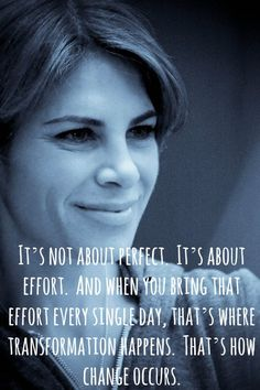 Jillian Michaels. Not a huge fan of her 'tough love' training but she's such an inspiration to me as a woman.