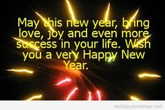 wish saying very happy new year 2015
