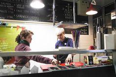 CARAVANA, #street food en el Mercado de Antón Martín  #madrid