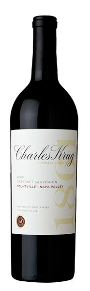 Krug's Yountville cabernet sauvignon is the classic Napa cab -- balanced, flavorful, goes-with-anything.