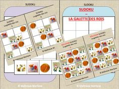 Maîtresse Marilyne MS - GS: SUDOKU : Galette des rois Trait Vertical, Ms Gs, Games, Album, Names, Game Boards, Gaming Rules, King Cakes, Deceit