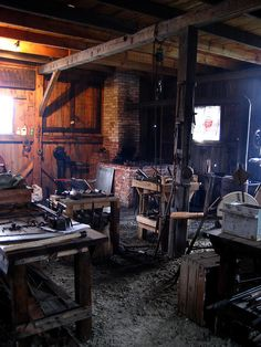 Hanaway Blacksmith Shop  ... because her ally is a young blacksmith.