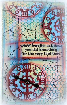 When was the last time you did something for the very first time?