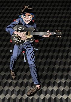 Here is a place where I will post all of the official Gorillaz art. I claim none of this art and it is all created by Jamie Hewlett. I will NOT be posting any fan art (including edits). Gorillaz Albums, Murdoc Gorillaz, Gorillaz Wiki, Teddy Boys, Jamie Hewlett Art, Monkeys Band, Demon Days, Fanart, Harry Styles Baby