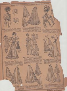 McCalls1907-2.jpg (1179×1590)  See more here: http://centuries-sewing.com/research-and-tutorials/mccalls-1907-pattern-catalogue-spring-and-summer/