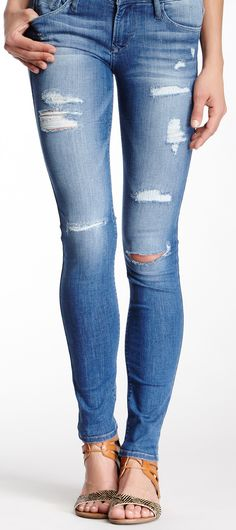 Ripped skinnies