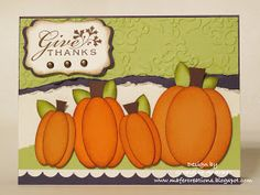Mafer's Creations: THANKSGIVING CARD