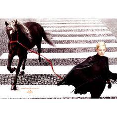 » [広告キャンペーン] エルメス 2006年秋冬コレクション – ヴラダ・ロスリャコヴァ、ステラ・テナント #3【Hermes/エルメス】... ❤ liked on Polyvore