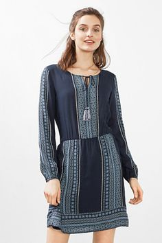 Tunic-style flowing dress