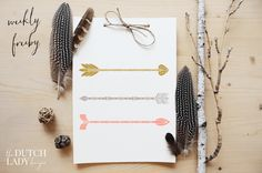 Free set of arrow clipart - download here: http://www.thedutchladydesigns.com/2015/09/free-arrow-clipart.html