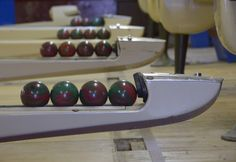 The Westfield Candlepin Bowling Center lanes have been closed for 14 years. Bowling