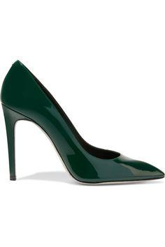 RENÉ CAOVILLA Patent-Leather Pumps. #renécaovilla #shoes #pumps