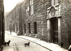 newcastle upon tyne england medieval | 012552:Blackfriars Newcastle upon Tyne around 1912. | Flickr - Photo ...