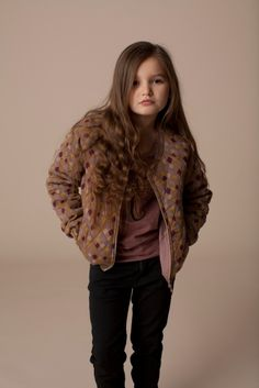 Soft Gallery quilted jacket, a popular trend in kidswear for the fall 2013 season