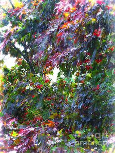 Spring Downpour Painting by Shelly Weingart