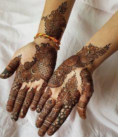 Beautiful & Simple Mehndi Designs for Hand Latest Arabic Mehndi Designs, Latest Bridal Mehndi Designs, Mehndi Designs 2018, Modern Mehndi Designs, Mehndi Designs For Girls, Mehndi Designs For Beginners, Mehndi Design Photos, Wedding Mehndi Designs, Dulhan Mehndi Designs