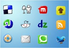 Craft Blog UK: How to add social Media Icons to your blog