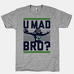 U Mad Bro? #richardsherman #NFL #seattle #football