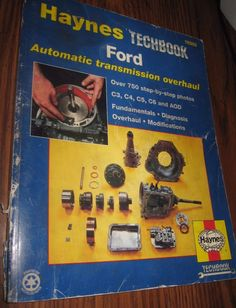 Haynes Techbook Ford Automatic Transmission Overhaul 10355