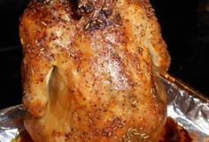 Beer Can Chicken (Oven Style) 1 lb. whole chicken 1 can of beer, room temperature 1 tsp. black pepper 1 T. dried r (Whole Chicken In The Oven) Beer Butt Chicken, Oven Chicken, Canned Chicken, Roasted Chicken, Dessert Salads, Fruit Salad Recipes, Dessert Recipes, Dinner Recipes, Fluff Desserts
