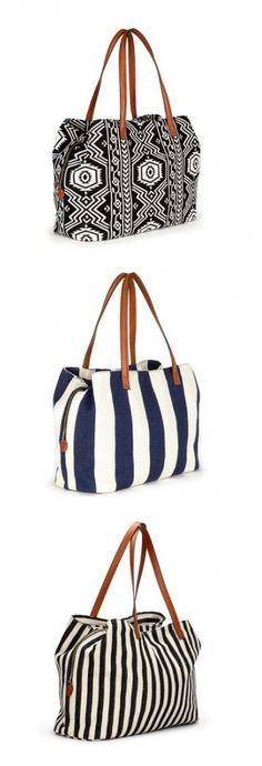 Cute tote bags - choose your favorite print!
