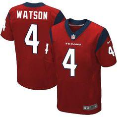 46f2c7aef Nike Texans  4 Deshaun Watson Red Alternate Men s Stitched NFL Elite Jersey  And nfl jerseys