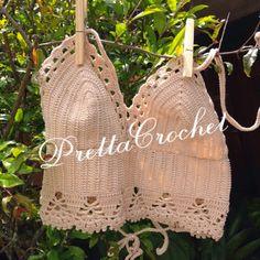 Pretta Crochet: Top de crochet