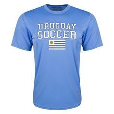 Uruguay Poly Training T-Shirt