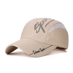 b7dd27b4bb JOYMAY Quick-drying Casual Baseball Cap Breathable Snapback Sun-hat Fishing Hat  Fashion Cap