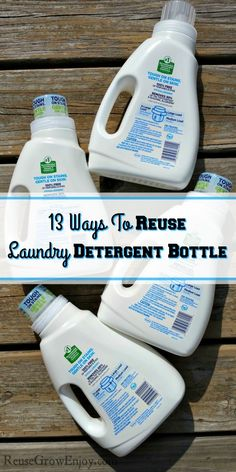 764a723178 After you have finished a detergent bottle what do you do with it  You can  recycle