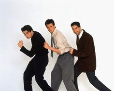 Joey Tribbiani, Chandler Bing, and Ross Geller - joey-chandler-and-ross photo