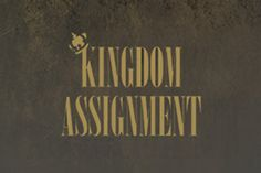 Whose assignment are you on?