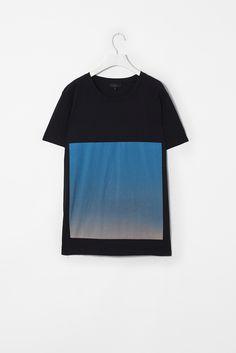 Gradient print t-shirt