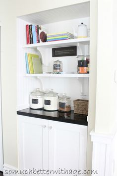 Turn A Closet Into A Butler Pantry - So Much Better With Age