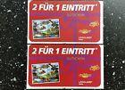 #Ticket  2 Gutscheine 2 für 1 Eintritt fürs Legoland Billund Resort / DK uvm. #Ostereich