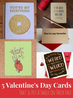 Cool Finds: 5 Valentine's Day Cards That'll Put A Smile On Their Face You're My Favorite, Holiday Festival, Valentine Day Cards, Letterpress, Diy Projects, Smile, Sweet, Face, Kids