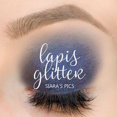 Limited Edition Lapis Glitter ShadowSense is a deep blue shade with cobalt and teal glitter.  Perfect for Date Night, Clubbing or any dressy occasion - or JUST BECAUSE you love glitter and blue.  #lapisglitter #shadowsense #senegence #eyeshadow #glitter
