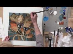 (Preview) Negative Painting Techniques for Acrylic with Linda Kemp - YouTube