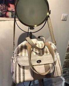 coraliesaboy Un #sac à langer boogie de @patrons_sacotin pour la naissance du petit Léo